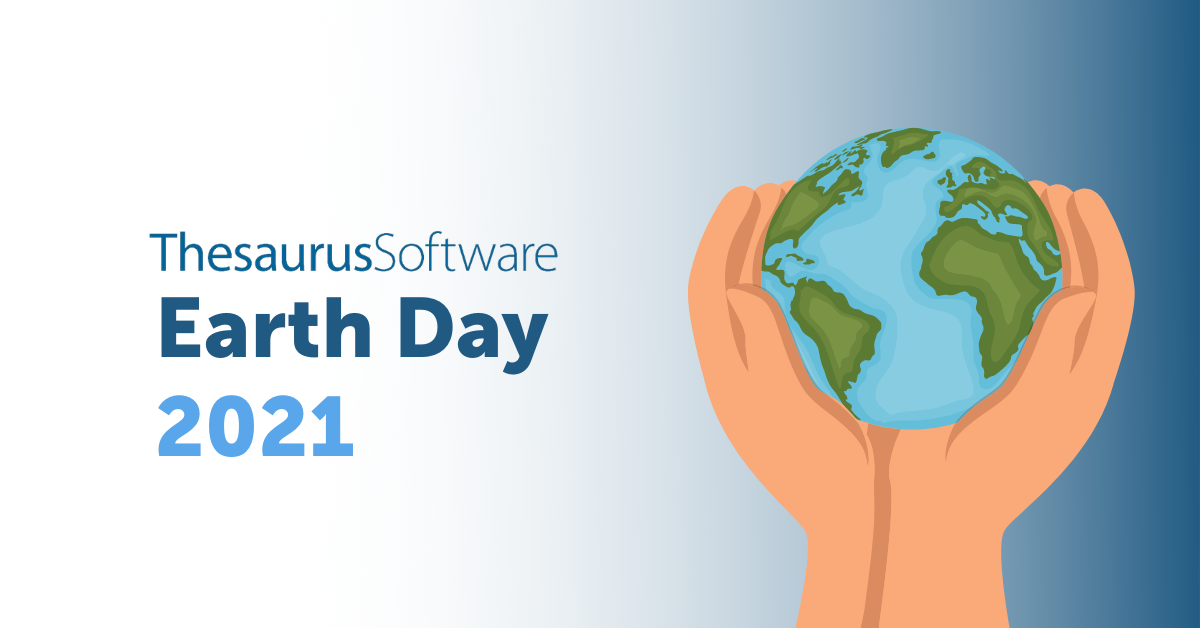 Earth Day at thesaurus Software